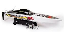 Remote Control Boat Atomik Barbwire XL 24 RTR Electric Brushless RC Boat New