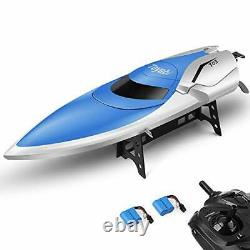 Remote Control Boat Pools, Lakes 2.4GHz High Speed RC Racing Capsize Recovery