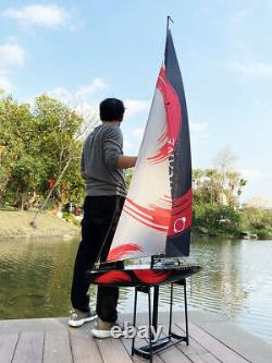 Remote Control Boat Wind Power 2.4G Unpowered Assembled Electric Boat RC Sailing
