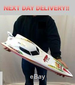 Remote Control High Speed Boat RC Racing Outdoor Kids Toys for Pool River 7000