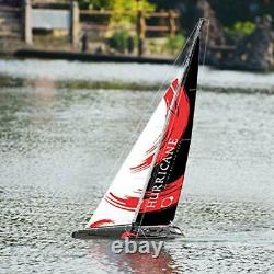 Remote Control Sailboat RC Sailing Boat Hurricane 1-Meter 2.4Ghz 2-Channel Ready