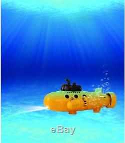Remote Control Yellow Submarine RC Boat Underwater Ship Kids Water Toy Fun Play