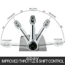Remote Throttle Control, 5006184 Twin Lever for Johnson & Evinrude Boat Engines