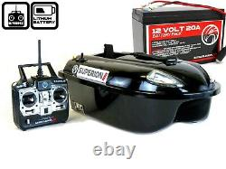 Sight Tackle Superion II Bait Boat with Lithium Battery