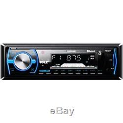 Sound Around Pyle Marine Bluetooth Stereo Radio 12v Single DIN Style Boat In