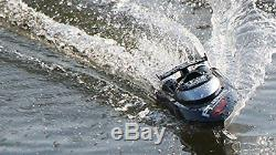 Top Race Remote Control RC Boat, Speed of 30 Mph, Auto Flip Recovery, 2.4 Gh