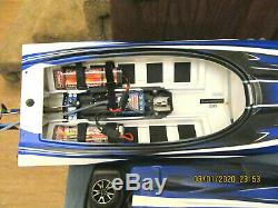 Traxxas Spartan RC racing Boat preowned WithBATTERIES & REMOTE CONTROL NO CHARGER