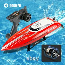 UDIRC Brushless RC Boat Racing 50 km/h High Speed Remote Control Boat Adult Kids