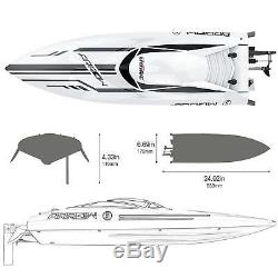 UDI UDI005 RC Racing Boat Brushless High Speed Electronic Remote Control Boat