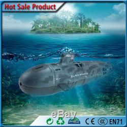 US Seawolf Nuclear Submarine Remote Control Toy 6 Channel RC Diving Boat Toy