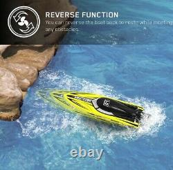 VOLANTEXRC Brushless RC Boat 40mph High-Speed Brushless Remote Control Boat Vect