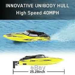 VOLANTEX RC Racing Boat 40MPH Brushless Remote Control Speed Boat Gift US Stock