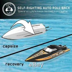 VOLANTEX RC Racing Boat 50MPH Brushless High Speed Remote Control Boat Adult Kid