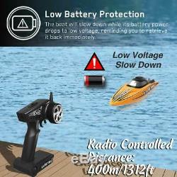 VOLANTEX RC Racing Boat 50MPH Brushless Remote Control Speed Boat Gift US Stock