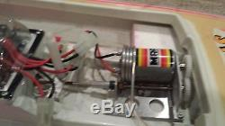 Vintage Model Racing Products MRP Outrageous Remote Control Drag Boat with Motor