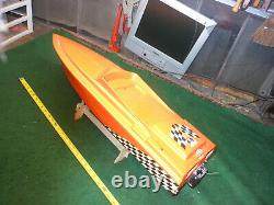 Vintage Rare RC Boat Hydro remote control boat only