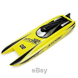 Volantex V792-4 70cm ATOMIC 2.4G Brushless RTR 60km/h RC Remote Control Boat ABS