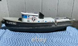 Vtg Amusement Park Tourist Attraction Remote Control Pond Boat Coin Operated