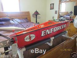Warehouse Hobbies Enforcer Super G Rc Gas Powered Rc Boat Remote Controlled Boat