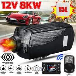 Warmtoo 8KW 12V Air Diesel Heater Car Truck Boat Motorhome LCD Remote Control